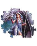 Puzzle Clementoni de 1000 piese - Anne Stokes Collection, Dragon Mage - 3t