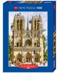 Puzzle Heye de 1000 piese - Sa traiasca Notre Dame!, Jean-Jaques Loup - 1t