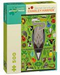 Puzzle Pomegranate de 500 piese - Sanctuarul secret, Charley Harper - 1t