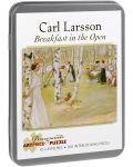 Puzzle Pomegranate de 100 piese - Mic dejun in aer liber, Carl Larsson - 1t
