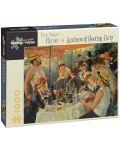 Puzzle Pomegranate de 1000 piese - Pranz la petrecerea de pe nava, Pierre Renoir - 1t