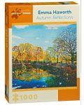 Puzzle Pomegranate de 1000 piese - Reflectia de toamna, Emma Haworth - 1t