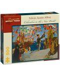 Puzzle Pomegranate de 500 piese - Columb in lumea noua, Edwin Abbey - 1t
