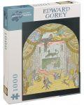 Puzzle Pomegranate de 1000 piese - Teatru, Edward Gorey - 1t