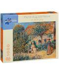 Puzzle Pomegranate de 1000 piese - In Bretania, Pierre Renoir - 1t