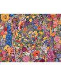 Puzzle Pomegranate de 1000 piese - Cerc de flori, Rosalind Wise - 2t