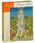 Puzzle Pomegranate de 1000 piese - Turnul Babel - 1t