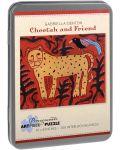 Puzzle Pomegranate de 100 piese - Leopard si prieten, Gabriella Denton - 1t