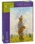 Puzzle Pomegranate de 1000 piese - Imbratisarea, Robert Bissell - 1t