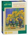 Puzzle Pomegranate de 500 piese - Opuntia si Sahuaro, Gustave Baumann - 1t