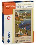 Puzzle Pomegranate de 500 piese - Castelul Windsor, Adrian Allinson - 1t