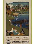 Puzzle Pomegranate de 500 piese - Castelul Windsor, Adrian Allinson - 2t