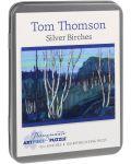 Puzzle Pomegranate de 100 piese - Mesteacan argintiu, Tom Thomson - 1t