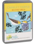 Puzzle Pomegranate de 100 piese - Vireo olivaceus, Charley Harper - 1t