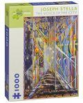 Puzzle Pomegranate de 1000 piese - Vocea orasului, Joseph Stella - 1t