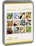 Puzzle Pomegranate de 100 piese - Animale muzicanti, Janelle Dimmett - 1t