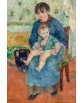 Puzzle Pomegranate de 500 piese - Mama si copil, Pierre Renoir - 2t
