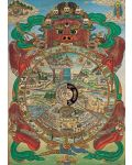 Puzzle Pomegranate de 1000 piese - Bhavacakra, Tibet - 2t