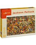 Puzzle Pomegranate de 1000 piese - Convergenta, Jackson Pollock - 1t
