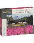 Puzzle Pomegranate de 500 piese - Flori in sat , Kazuyuki Ohtsu - 1t