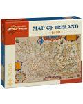Puzzle Pomegranate de 500 piese - Harta Irlandei din anul 1599 - 1t