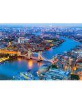 Puzzle Castorland de 1000 piese - Londra vazuta prin ochii paserei - 2t