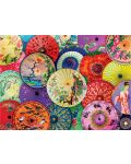 Puzzle Eurographics de 1000 piese - Umbrele asiatice  - 2t