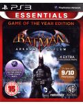Batman: Arkham Asylum GOTY - Essentials (PS3) - 1t
