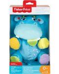 Jucarie pentru bebelusi Fisher Price - Hipopotam, 2 in 1 - 5t