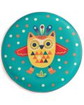Frisbee pentru copii Djeco - Flying Owl - 2t