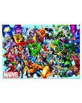 Puzzle Educa de 1000 piese - Eroii Marvel - 2t