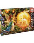 Puzzle Educa de 1000 piese - Padurea magica - 1t