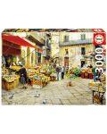 Puzzle Educa de 3000 piese - Piata Vucciria, Palermo - 1t