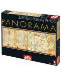 Puzzle panoramic Educa de 3000 piese - Harta medievala, Abraham Cresques - 1t