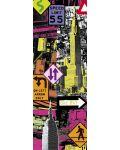 Puzzle panoramic Educa de 2000 piese - New York, Pop art - 2t