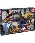 Puzzle Educa de 1000 piese - Colaj New York - 1t