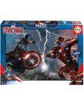 Puzzle Educa de 1000 piese - Capitan America impotriva lui Iron Man - 1t