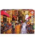Puzzle Educa de 8000 piese - Strada cafenelelor, Richard Macneil - 1t