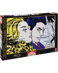 Puzzle Educa de 1000 piese - In masina, Roy Lichtenstein - 1t