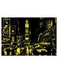 Puzzle neon Educa de 1000 piese - Times Square, New York - 3t