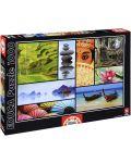 Puzzle Educa de 1000 piese - Culorile Asiei - 1t