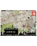Puzzle Educa de 500 piese - Harta orasului - 1t