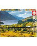 Puzzle Educa de 1000 piese - Viaductul Glenfinnan Scotia, - 1t