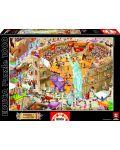 Puzzle Educa de 1000 piese - Roma antica - 1t