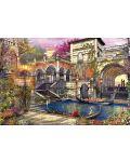 Puzzle Educa de 3000 piese - Romantica in Venetia, Dominic Davison - 2t