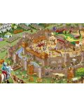 Puzzle Educa de 1000 piese - Asezare medievala - 2t