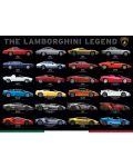 Puzzle Eurographics de 1000 piese – Legenda Lamborghini - 2t