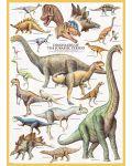 Puzzle Eurographics de 1000 piese – Dinozauri Jurasicul - 2t