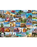 Puzzle Eurographics de 1000 piese – Calatorie in Mexic - 2t