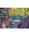 Puzzle Eurographics de 1000 piese – La circ, Mark Chagall - 2t